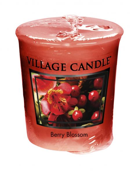Village Candle - Votivkerze - Berry Blossom