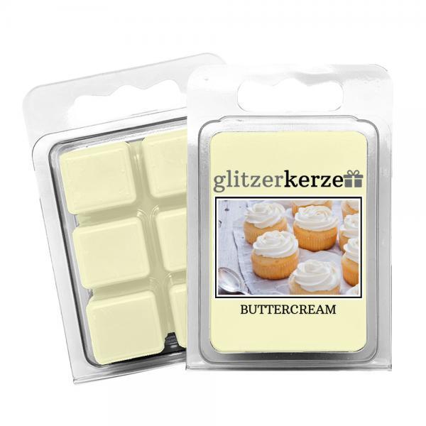 glitzerkerze - Duftwachs Buttercream