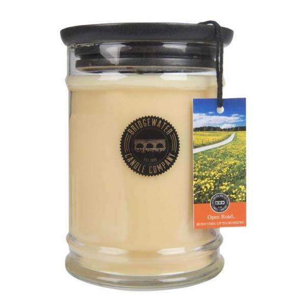 Bridgewater Candle - Große Duftkerze im Glas - Large Jar - Open Road