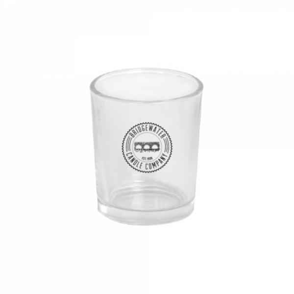 Bridgewater Candle - Votivkerzenhalter - Glas - Klar mit Logo