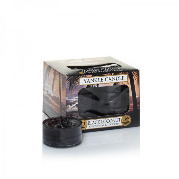 Yankee Candle - Teelichter - Classic Tea Lights - Black Coconut