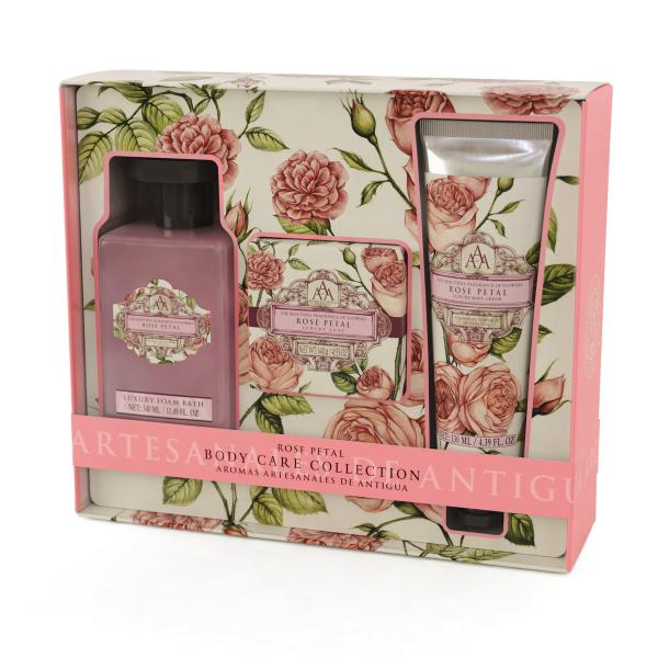 STC - Triple AAA Body Care Collection Rose Petal