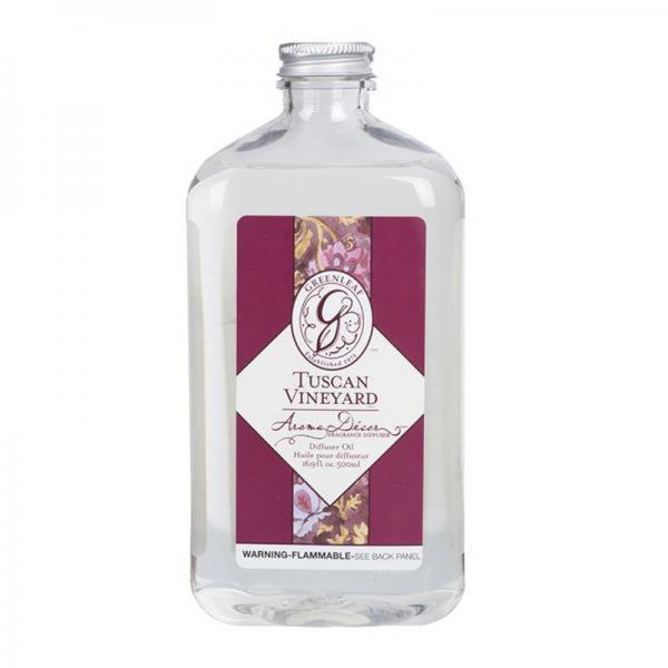 Greenleaf - Aroma Decor Oil - Diffuseröl - Tuscan Vineyard