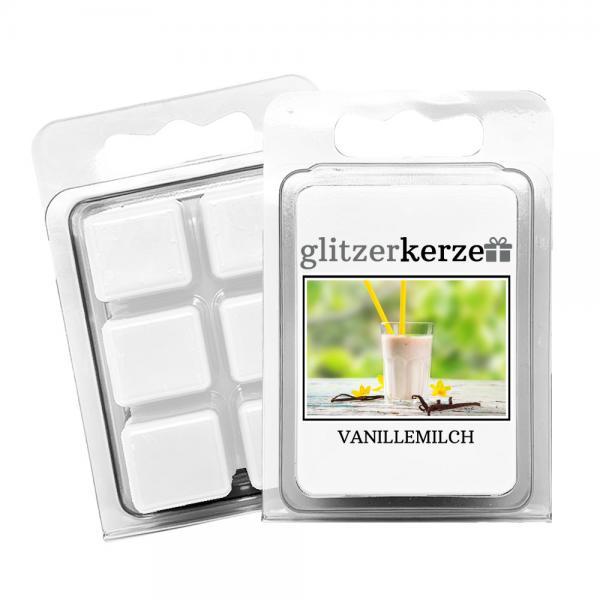 glitzerkerze - Duftwachs Vanillemilch
