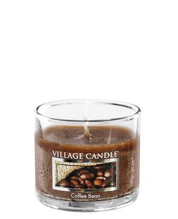 Village Candle - Mini Glass Votive Candle - Coffe Bean