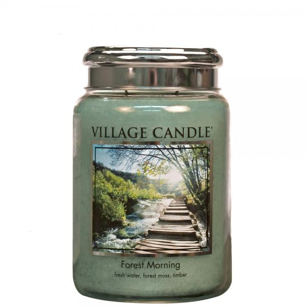 Village Candle - Large Glass Jar - Forest Morning