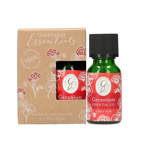 Greenleaf - Essential Oil - Ätherisches Duftöl - Geranium