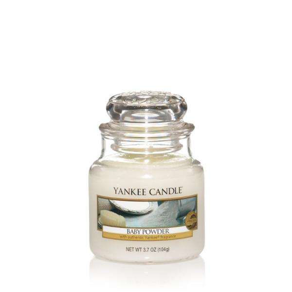 Yankee Candle - Classic Small Jar Housewarmer - Baby Powder