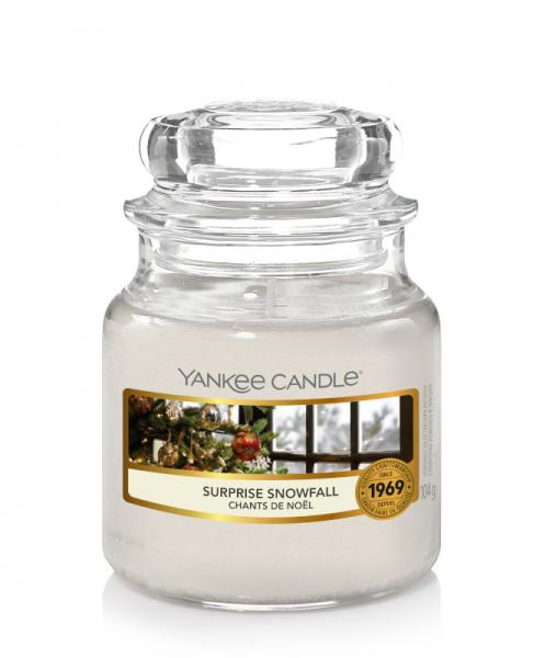Yankee Candle - Classic Small Jar Housewarmer - Surprise Snowfall Δ