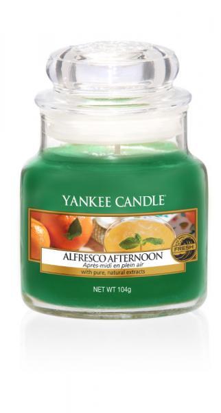 Yankee Candle - Classic Small Jar Housewarmer - Alfresco Afternoon
