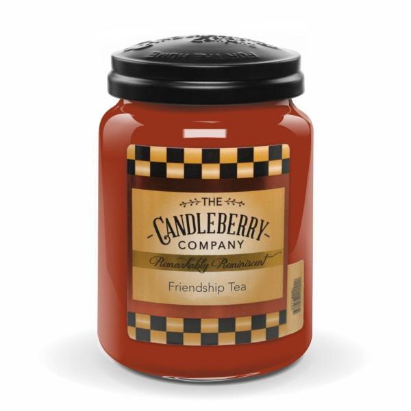 Candleberry - Duftkerze im Glas - Frienship Tea