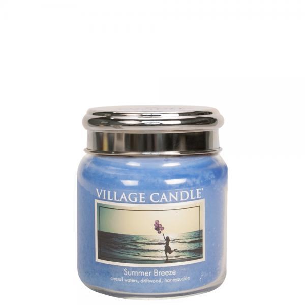 Village Candle - Medium Glass Jar - Summer Breeze