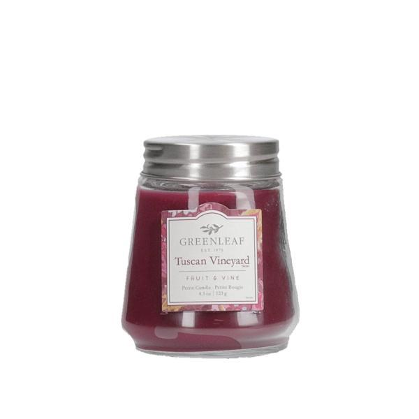 Greenleaf - Duftkerze im Glas - Petite Candle - Tuscan Vineyard