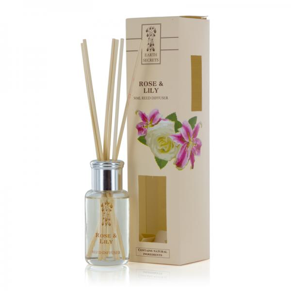 Ashleigh & Burwood - Earth Secrets - Mini Reed Diffuser - Rose & Lily