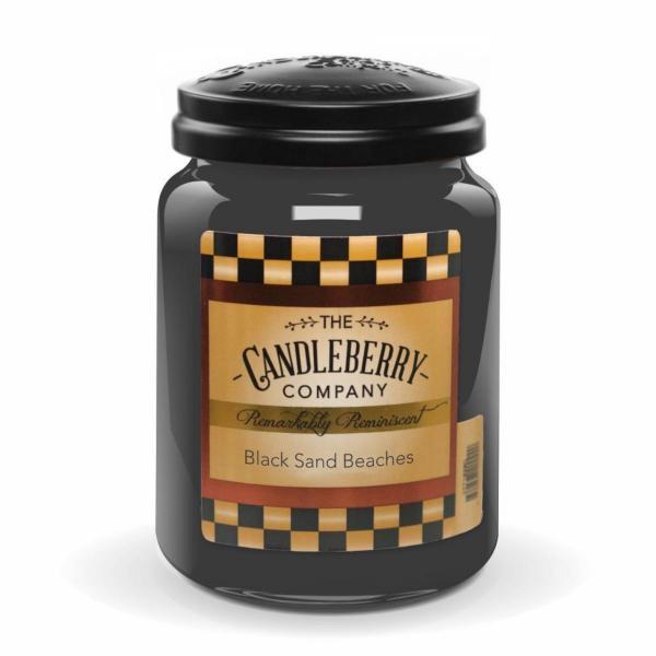 Candleberry - Duftkerze im Glas - Black Sand Beaches