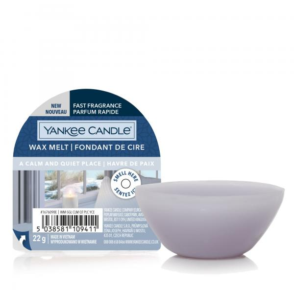 Yankee Candle - Classic Wax Melt - Duftwachs - A Calm & Quiet Place