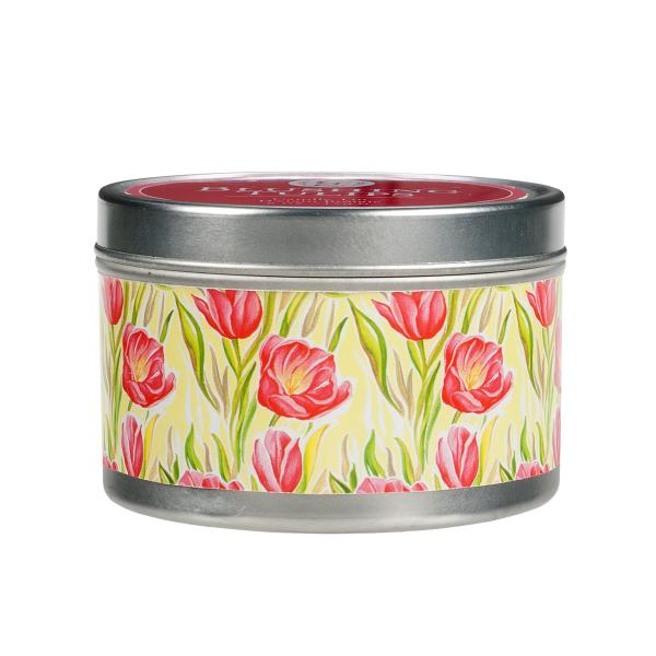 *Greenleaf - Candle Tin - Duftkerze in Dose - Blushing Tulips