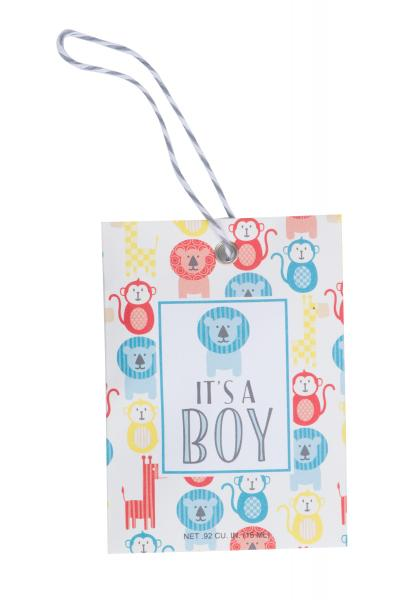 *Willowbrook - Scented Gift Tag - Duftsachet m. Hängeschlaufe - It's A Boy