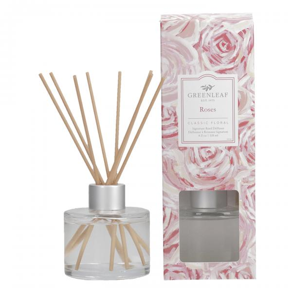 Greenleaf - Signature Reed Diffuser - Roses