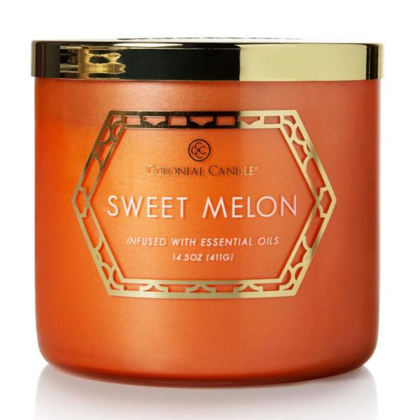 Colonial Candle - Mittlere Duftkerze im Glas - Everyday Luxe - Sweet Melon