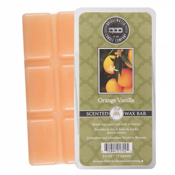 Bridgewater Candle - Scented Wax Bar - Orange Vanilla