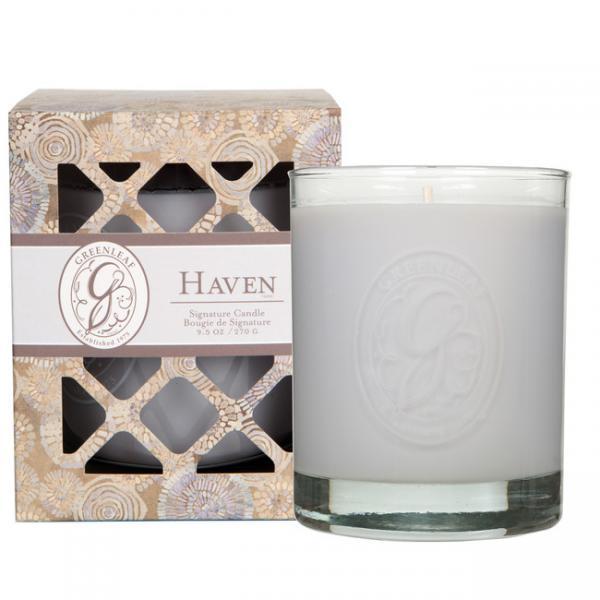 Greenleaf - Duftkerze im Glas - Signature Candle - Haven