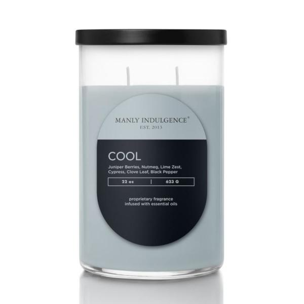 Colonial Candle - Große Duftkerze im Glas - Contemporary - Cool