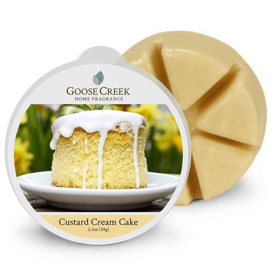 Goose Creek Candle - Duftwachs - Wax Melt - Custard Cream Cake •