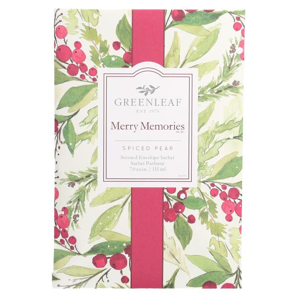 Greenleaf - Duftsachet Large - Merry Memories Δ