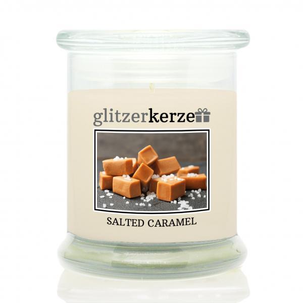 glitzerkerze - Duftkerze - Salted Caramel