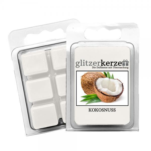 glitzerkerze - Duftwachs Kokosnuss