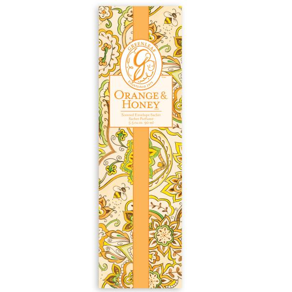 Greenleaf - Duftsachet Slim - Orange & Honey